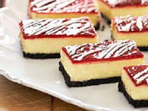 Raspberry Cheesecake Brownie Bars