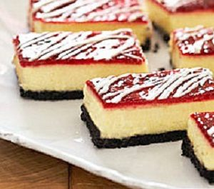 Raspberry Cheesecake Brownie Bars
