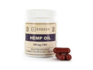 30 CBD Hemp Oil Capsules 300mg