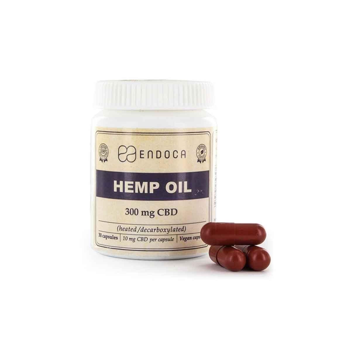 Hemp Oil Capsules CBD 300mg - BUY WEED ONLINE