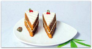 Cannabis Carrot Cake