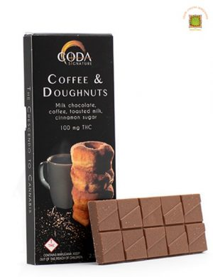 Coda Signature Chocolate Bars- 100mg