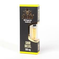 Sour Diesel Cannabis Co2 Oil