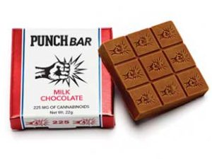 Punch bar edibles