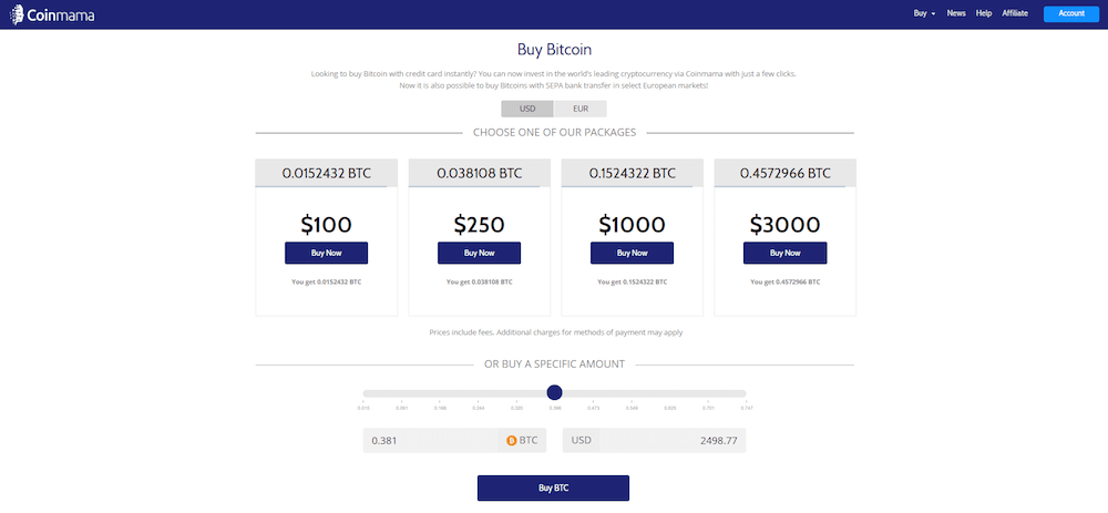 Select Amount of Bitcoins to Buy with coinmama-legalonlinecannabisdispensary.com-locd